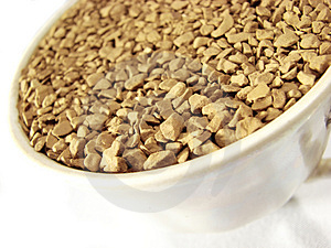 Instant Coffee Granules Closeup 5 Stock Photography - Image: 5001202