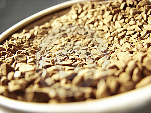 Instant Coffee Closeup 3 Royalty Free Stock Image - Image: 5001306