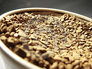 Instant Coffee Closeup 2 Stock Image - Image: 5001311