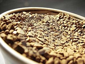Instant Coffee Closeup 2 Stock Image - Image: 5001311