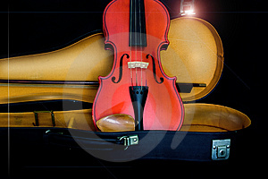 Antique Violin Stock Image - Image: 5002861