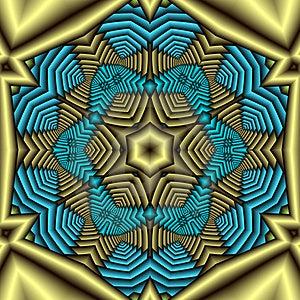Aztec Treasure Mandala  Royalty Free Stock Photos - Image: 5003678