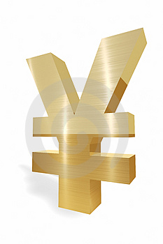 Yen Currency Symbol Royalty Free Stock Images - Image: 5005989