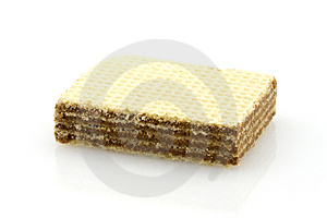 Wafer, Isolated Royalty Free Stock Photo - Image: 5007675