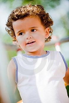 Child Outside Royalty Free Stock Photo - Image: 5010195