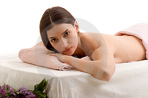 Beauty and Spa Royalty Free Stock Photography