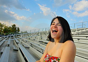 Ecstatic Woman Stock Images - Image: 5015194