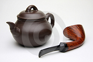Tobacco Pipe Royalty Free Stock Photos - Image: 5016178