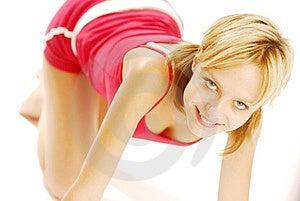 Exercising Girl Stock Photos - Image: 5021493
