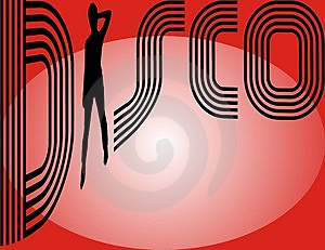 Disco Vector Royalty Free Stock Images - Image: 5021899