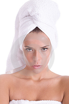 Spa portrait Royalty Free Stock Photos