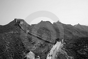 The Great Wall - Simatai Stock Photo - Image: 5026980