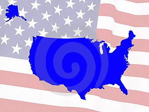 Usa Map Stock Photography - Image: 5028772