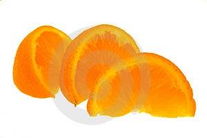 Orange Segments Royalty Free Stock Photos - Image: 5034648
