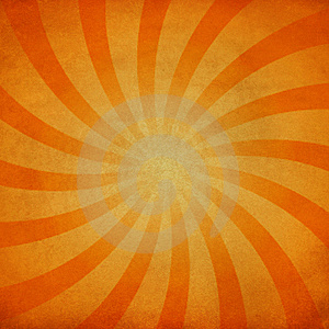Vintage sunburst Stock Photography