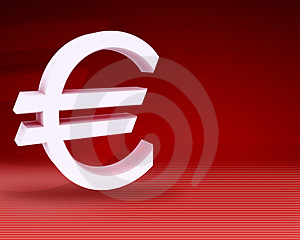 Euro Symbol Royalty Free Stock Photos - Image: 5039178