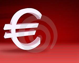 Euro Symbool Royalty-vrije Stock Foto's - Afbeelding: 5039178