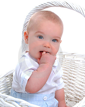 Hand In Mouth Royalty Free Stock Photography - Image: 5039727