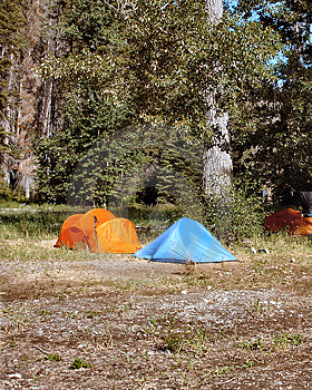 Camping Tents Royalty Free Stock Photo - Image: 5042875
