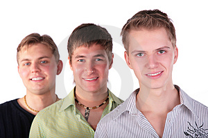 Three Friends Perspective Stock Images - Image: 5042924