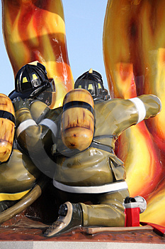 Firefighter Tribute Royalty Free Stock Photo - Image: 5044075