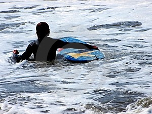 Surf And Surfer Royalty Free Stock Photography - Image: 5044597