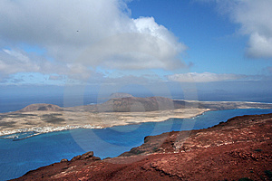 Isla Graciosa, Canary Island Royalty Free Stock Photo - Image: 5045935