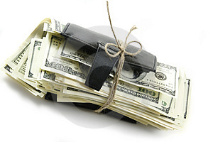 Thousand Dollars Inside Stock Photo - Image: 5050310