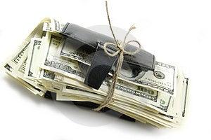 Thousand Dollars Inside Stock Photo - Image: 5050310