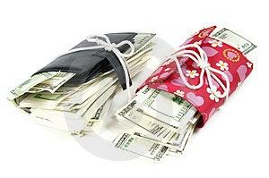 Thousand Dollars Inside Stock Photo - Image: 5050320