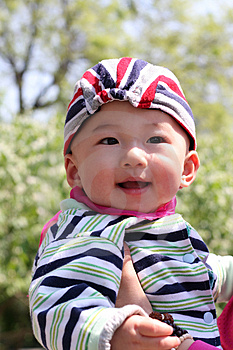 Smile Baby Stock Photos - Image: 5051643