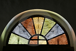 Church Window Stock Image - Image: 5051691