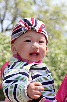 Smile Baby Royalty Free Stock Images - Image: 5051919