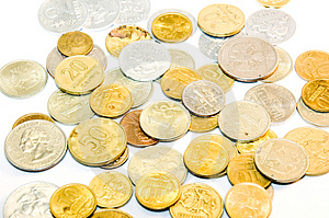 Monetary Coins Stock Images - Image: 5054064