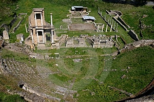 Antique Roman Theatre Royalty Free Stock Photos - Image: 5057068