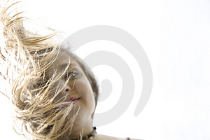 Sunny Hair Royalty Free Stock Image
