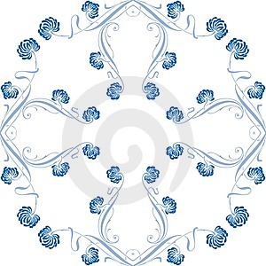 Floral Ornament Stock Images - Image: 5057664