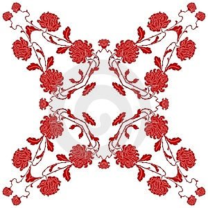 Floral Ornament Stock Image - Image: 5057671