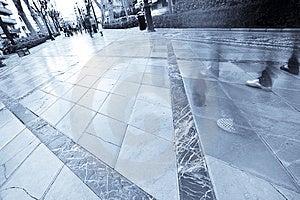 Walking Crowd Stock Images - Image: 5064424