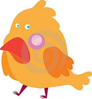 Κίτρινο Birdie Στοκ Εικόνες - εικόνα: 5064850