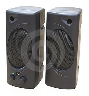 Speakers Close-up Stock Image - Image: 5065451