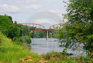 Fair Oaks Bridge Royalty Free Stock Photos - Image: 5065518
