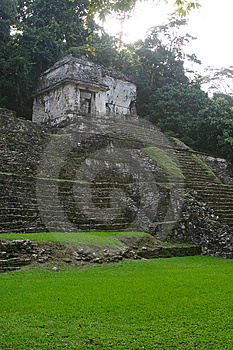 Mayan Tomb Royalty Free Stock Photos - Image: 5068488