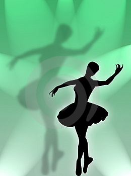 Classical Dancer In The Light Royalty Free Stock Photos - Image: 5069338