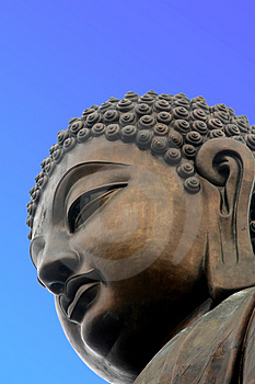 Giant Buddha Royalty Free Stock Photos - Image: 5070878