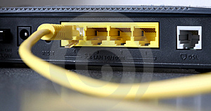 Modem Stock Photo - Image: 5073110