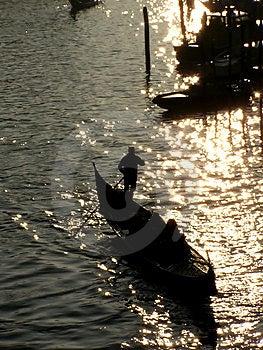 Gondola In Venice Royalty Free Stock Photo - Image: 5088285