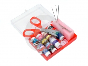 Sewing Kit Stock Photography - Image: 517802