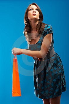 Fashion Model Royalty Free Stock Photography