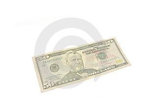 Fifty Dollar Bill Royalty Free Stock Photos - Image: 5110518